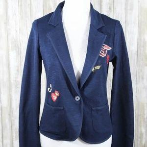 Freshman Blue Patch Front Pocket One Button blazer